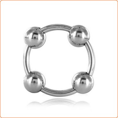 Wholesale Steel Head Ring with 4 Balls