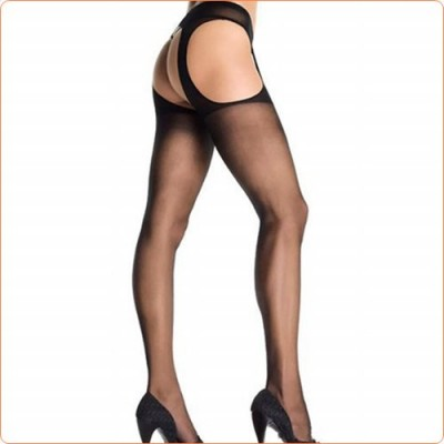 Wholesale High Quality Hollowed-out Crotchless Silk Stockings