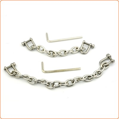 Wholesale Allen Screw Chain For Wrist And Ankle Cuffs