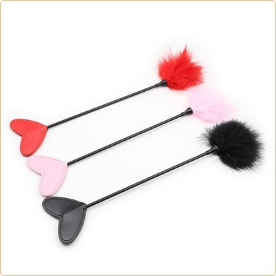 Wholesale Heart  Handle Tickler