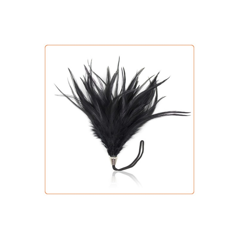 Wholesale Pom Pom Feather Tickler With Metal Handle