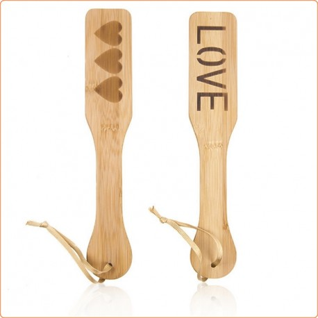Wholesale Bamboo Spanking Paddle With Heart Or Love