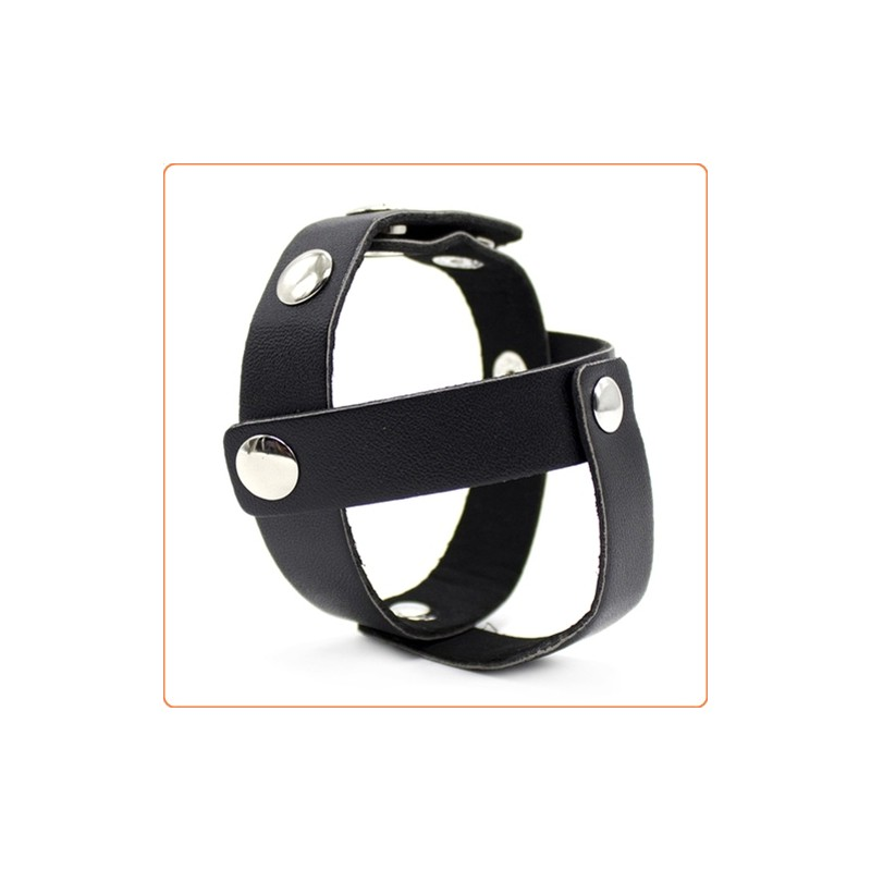Wholesale Single Layer Snap-On Cock and Ball Harness