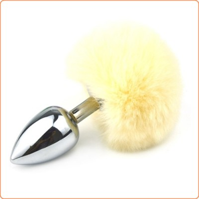 Wholesale Ball Tail Stainless Steel Anal Plug