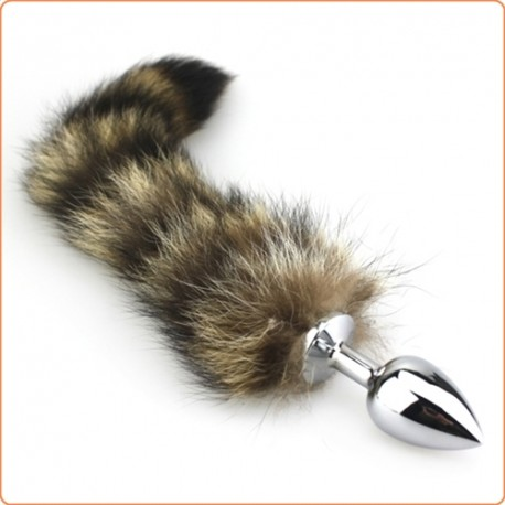 Wholesale Fox Tail Fetish Plug Anal Butt