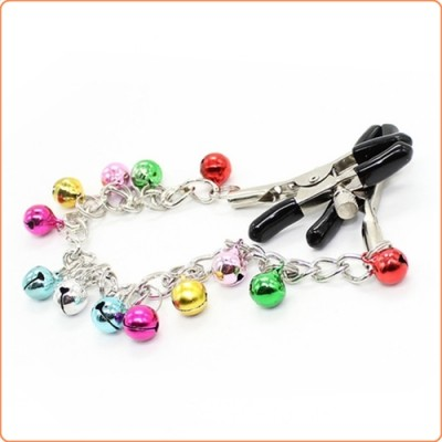 Wholesale Ornament Adjustable Nipple Clamps with Bell Chain