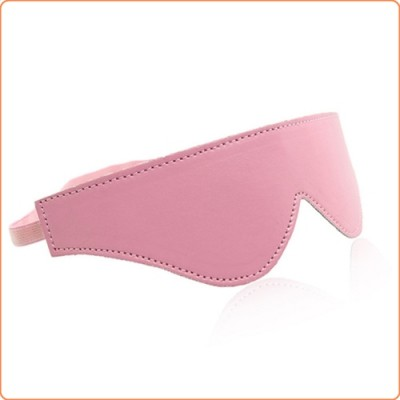 Wholesale Strict Leather Plush Lined Blindfold