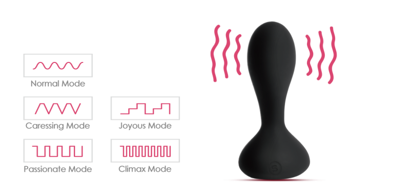 25 different frequency experiences anal toy